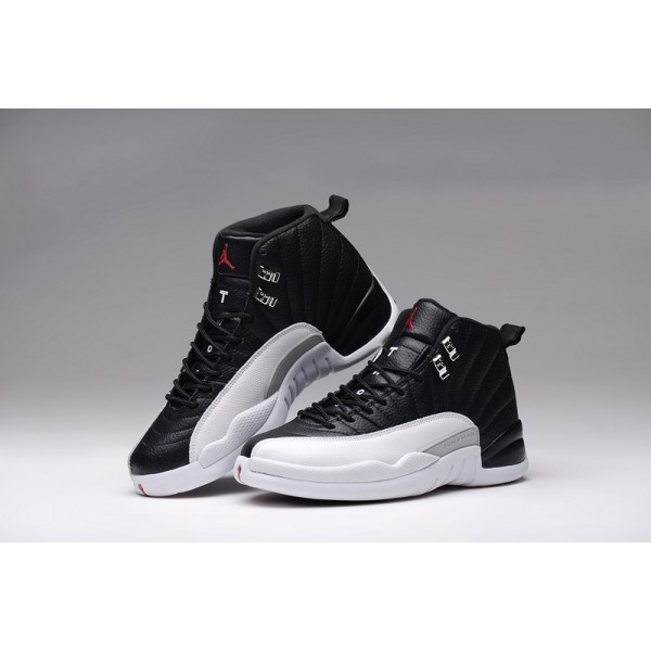 promo code dda50 3da85 Nike Air Jordans 12 men white black basketball shoes