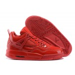 2017 Nike Air Jordan 4 mirror whole red men basketball shoes