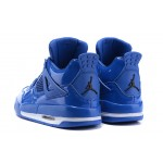 2017 Nike Air Jordan 4 mirror whole blue men basketball shoes