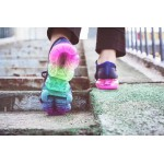 Nike Air 2018 Vapormax Flyknit rainbow women shoes