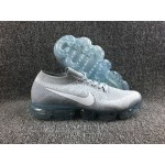 Nike Air 2018 Vapormax Flyknit whole white men shoes