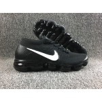 Nike Air 2018 Vapormax Flyknit whole black men shoes