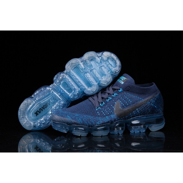 Nike Air 2018 Vapormax Flyknit deep blue men shoes