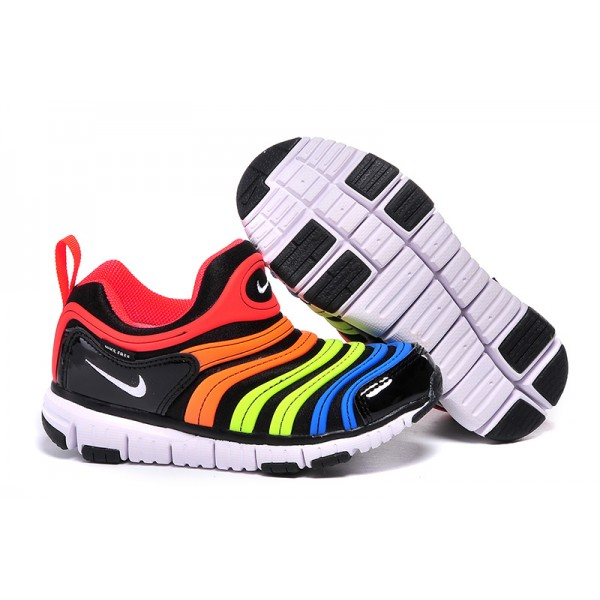 4c6b6fa15944 Nike Dynamo Free little kids shoes rainbow color