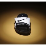 Nike Velcro men slipper white