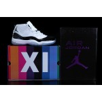 Nike Air Jordans Retro 11 Men's Shoes Black / White