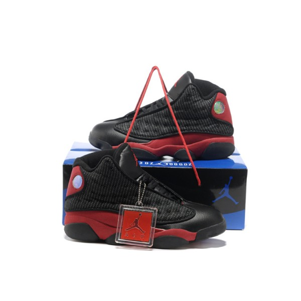 Nike Air Jordans 13 Shoes Basketball Black / Red
