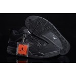 2013 Nike Air Jordans 4 Men's Shoes Black