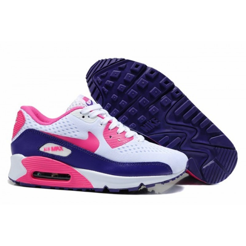Nike Air Max 90 Engineered Mesh Womens Shoes Black Pink