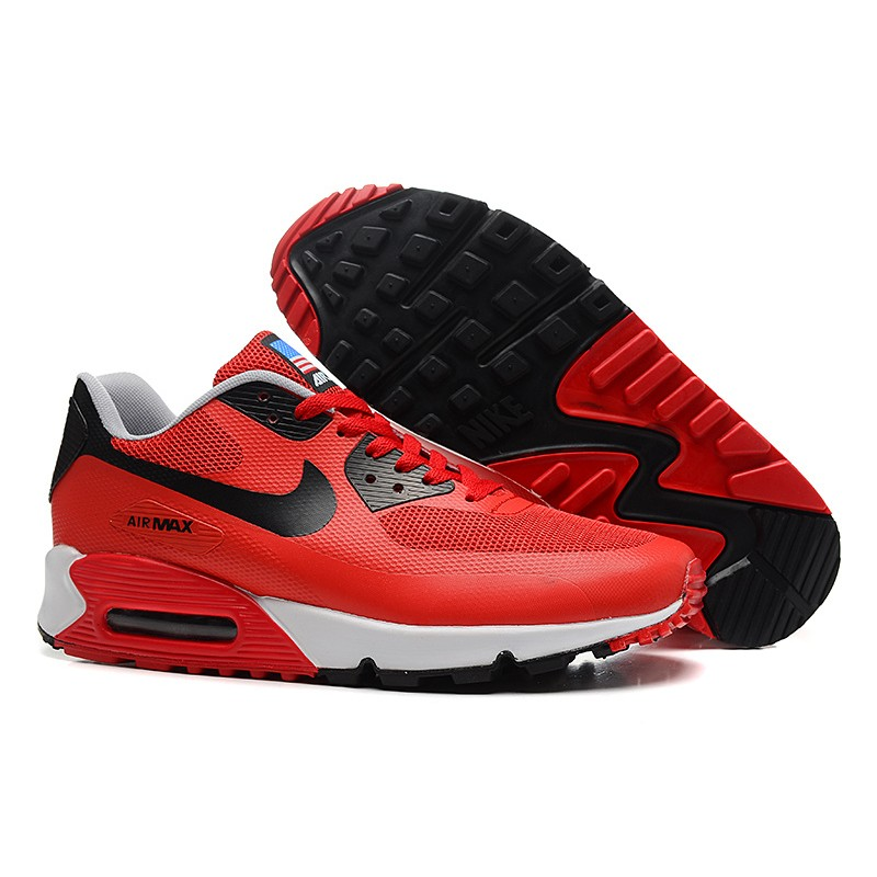 Nike Air Max 90 Hyperfuse BlackGrey | Nike air max, Nike