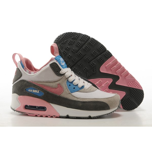 new photos 40682 332bd Nike Air Max 90 Sneaker Boots Womens