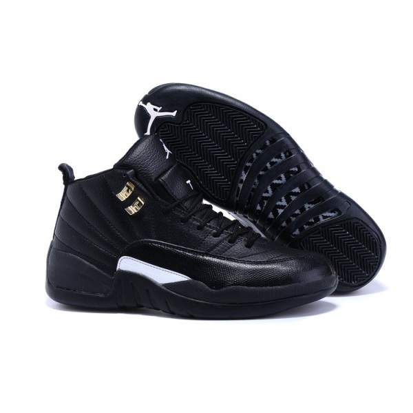 Nike Air Jordans 12 Retro Black / White