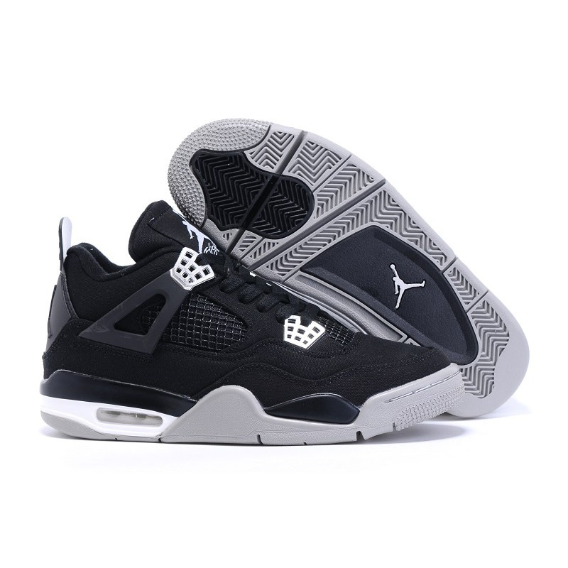 buy popular 23b9b 7483b Nike Air Jordans 4 Canvas Shoes Retro Men s