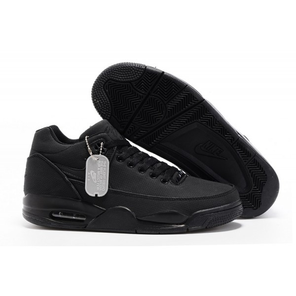 Air Flight Squad All Black Men's Shoes