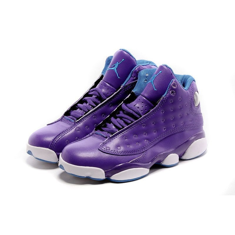 separation shoes d7a1a 7a45c buy nike air jordans 13 violet shoes retro womens 900ee 33fba