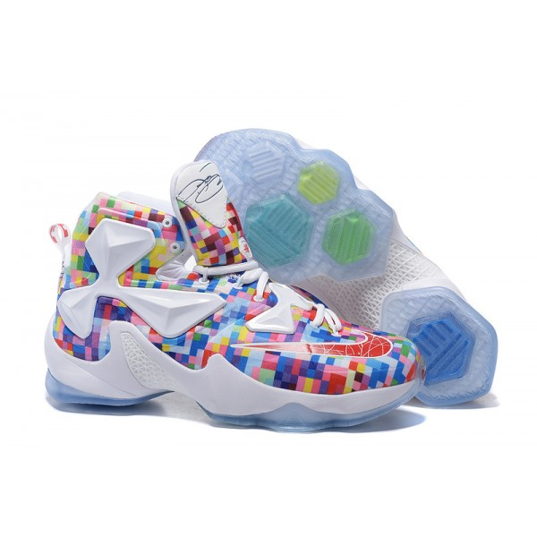the latest fe2e1 5dffb Nike LeBron James 13 Colorful