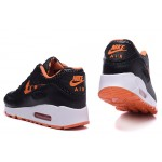 Nike Air Max 90 Black / White / Orange Men's Shoes