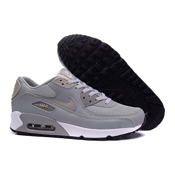 on sale fe7c8 e5d64 Nike Air Max 90 Womens Grey  White