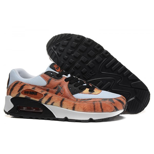 new styles d9602 56fa1 Nike Air Max 90 Shoes Tiger Pattern