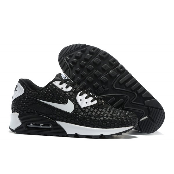 best loved 7b282 b242b Nike Air Max 90 Shoes KPU Men s Black   White