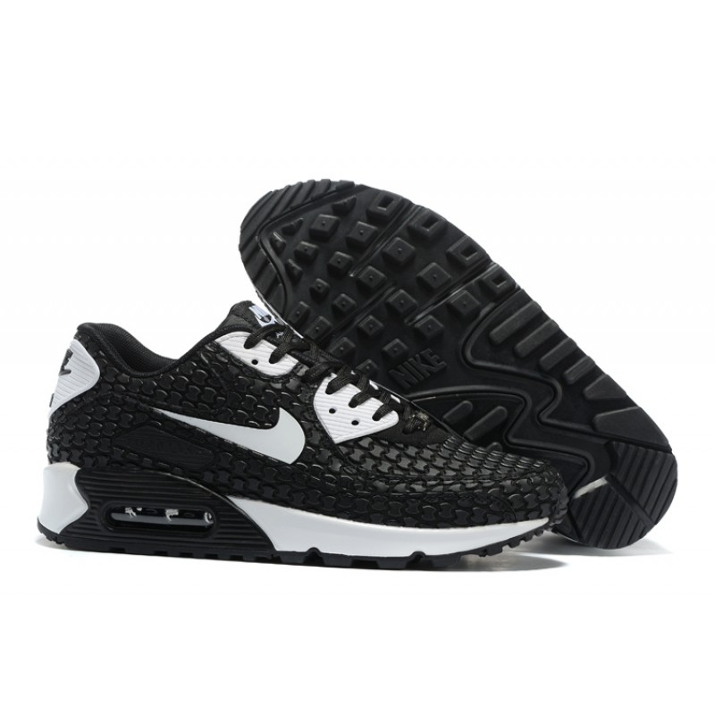 Nike Air Max 90 Shoes KPU Men's Black White